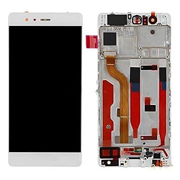 Huawei P9 unidad pantalla LCD táctil compatible con marco: Amazon.es ...
