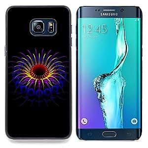 "For Samsung Galaxy S6 Edge Plus / S6 Edge+ G928 , S-type Hermosa planta abstracta"" - Arte & diseño plástico duro Fundas Cover Cubre Hard Case Cover"