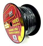 Audiopipe 18 100 FT Gauge Speed Cable Alarm Speaker Hydraulics Trailer Hitch Wire