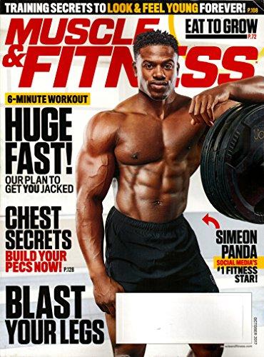 Muscle & Fitness Magazine October 2017 | Simeon Panda