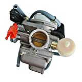 Dovewill GY6 Cable Electric Choke 18mm Carb Carburetor 50cc...