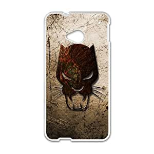 Black Panther HTC One M7 Cell Phone Case White Classical