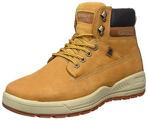 Dockers by Gerli 41cp001-302910, Stivali Desert Boots Uomo Giallo (Golden Tan)