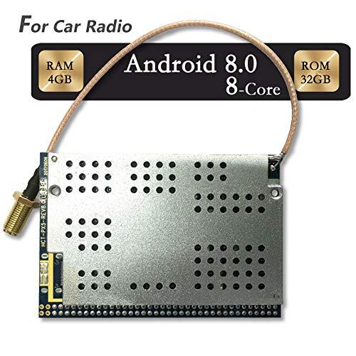 T-One PX5 Car Radio CPU Board,Android 8 0,Octa-Core,4GB RAM,32GB ROM GPS  Navigation