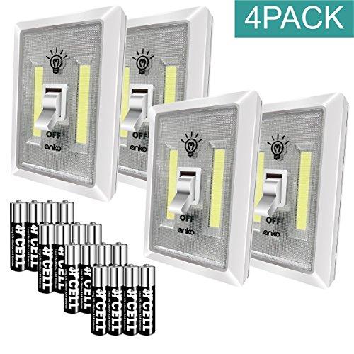 Led Garage Lights Battery: LED Night Light, ANKO 200 Lumen COB Emergency Lights