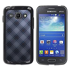 Design for Girls Plastic Cover Case FOR Samsung Galaxy Ace 3 Texture Checkered OBBA
