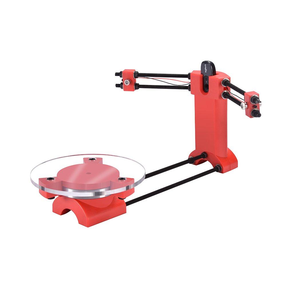 KINGPRINT Ciclop Open Source 3D Scanner Desktop DIY Kit for 3D Printer Advanced Laser Scanner, Injection Molding Plastics Parts