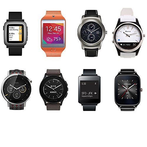 Greatfine 22mm Silicona Banda de Reloj de Correa para Samsung Gear 2 / Moto 360 2nd/Pebble Time/LG / Urbane Smartwatch (BlackYellow): Amazon.es: Electrónica