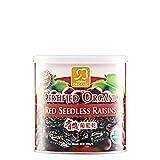 MUST BUY ! 8 Bottle COSWAY Mildura Organic Certified Red Seedless Raisins Jumbo Size ( 200g )