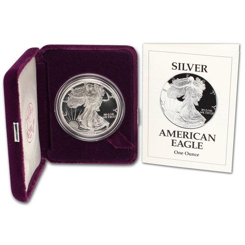 1993 Proof Silver Eagle (1993 P American Silver Eagle Proof $1 OGP U.S. Mint)