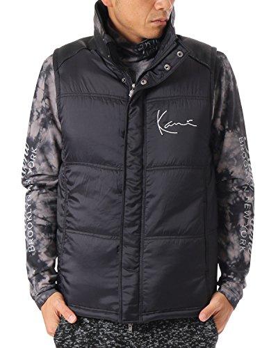 (カールカナイ ゴルフ) KarlKani GOLF ベスト 高機能中綿 [吸湿発熱 撥水加工] 173KG1601 ブラック XXLサイズ