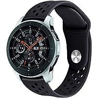 Pulseira Sport Galaxy Watch 46mm / Samsung Gear S3 Frontier Classic - All Black
