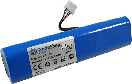 De alto rendimiento Ni-MH bater/ía equivalente a 7,2 V 3600 mAh BP190 B11432 para Rohde y negro FSH3 FSH3TV FSH6 FSH18 FSH-3-TV FSH-6 FSH-18 Fluke analizador de calidad 433 434 435
