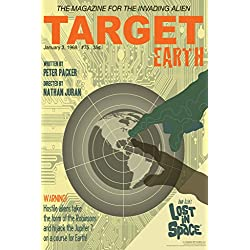 Lost In Space Target Earth by Juan Ortiz Art Print Poster 12x18