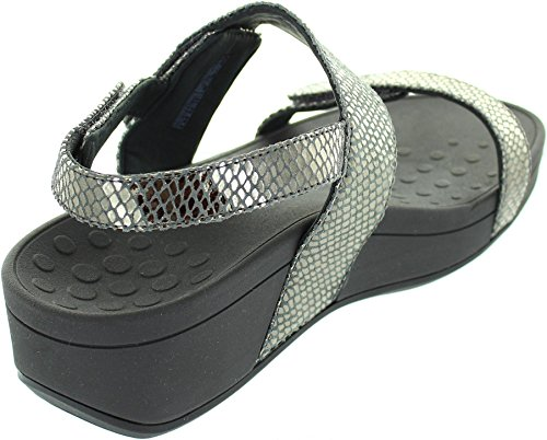 Pacific Snake Leather Vionic Bolinas US Sandals Pewter Womens 382 9 wqxtXYt1v