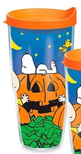 Tervis Tumbler Peanuts Great Pumpkin Charlie Brown Wrap 24oz with Travel Lid