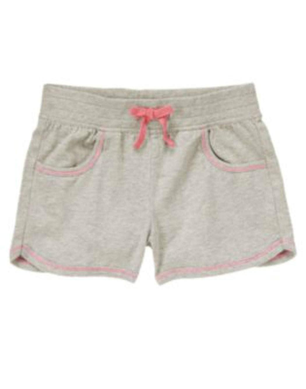 Heather Gray Crazy8 Girls Slubbed Essential Shorts Sz S 5-6