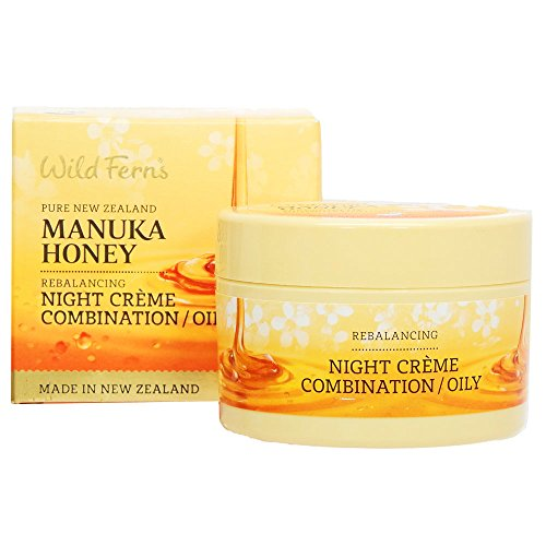 Wild Ferns Manuka Honey Night Cream Combination Oily Manuka Honey Night Cream