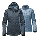 The North Face Women's Mossbud Swirl Triclimate Jacket - Ink Blue/Provincial Blue - M (Past Season)