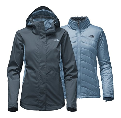 The North Face Women's Mossbud Swirl Triclimate Jacket - Ink Blue/Provincial Blue - M (Past Season) by The North Face