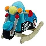 Rockabye Lil' Biker Motorcycle Rocker, One Size