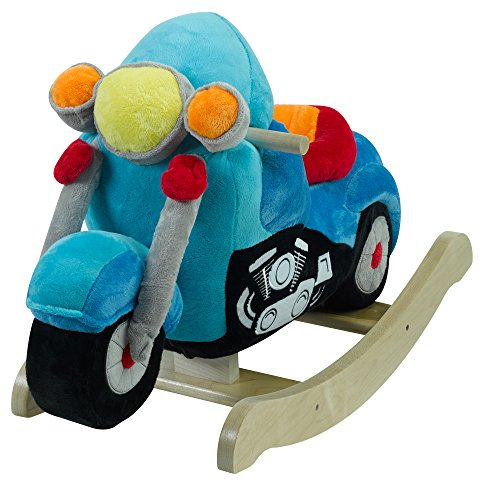 Rockabye Lil' Biker Motorcycle Rocker, One Size