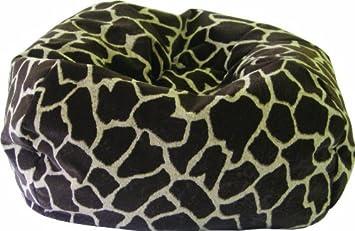 Cheetah Print Gold Medal Bean Bags 30008468813 Small Fuzze Suede Bean Bag for Children