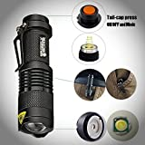 NEW-2-PACK-Professional-Grade-Ultra-Bright-Tactical-Flashlight-300-Lumen-LED-Rechargeable-Kit-Zoomable-Best-Tool-For-Boy-Scouts-Bugout-Bag-Power-Outage-Great-Camping-Lantern-Outdoor-Survival-Gear
