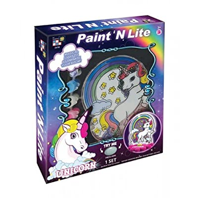 AMAV Toys Kids DIY Unicorn Painting Multicolor Kit, for Kids Ages 3+. Fun Arts & Crafts Activity. Ideal Gift for Christmas & Birthdays: Toys & Games