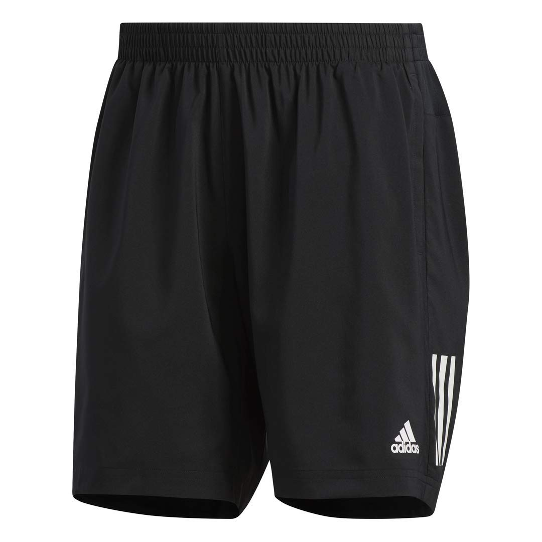 adidas Men's Own The Run Shorts, Black, Small