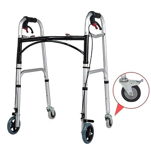 WY-WHEEL Andador Ancianos Aluminio Plegable - Caminantes ...