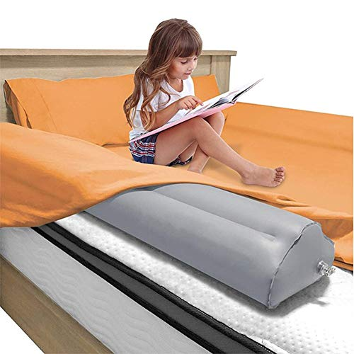 Toddler Bed Rail Guard Bumpers - [2-Pack] Inflatable Safety Baby Crib Rail Comfortableand Water-Resistant, Portable Blow-up Bed Bumperwith Non-Slip for Home, Travel, Vacation