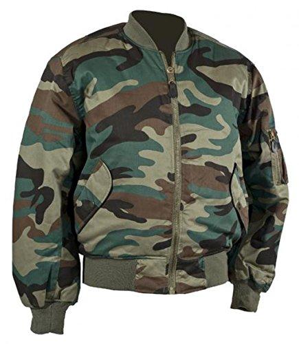 bomber S de MA1 chaqueta XXL estilo camuflaje zx1z58B