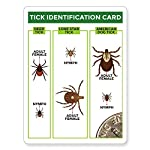 TickCheck Tick Remover Value 3 Pack - Tick Remover Tools + Tick Identification Card - for Humans, Dogs & Cats 9