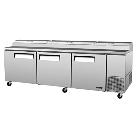 Turbo Air Deluxe Pizza Prep Table TPR-93SD