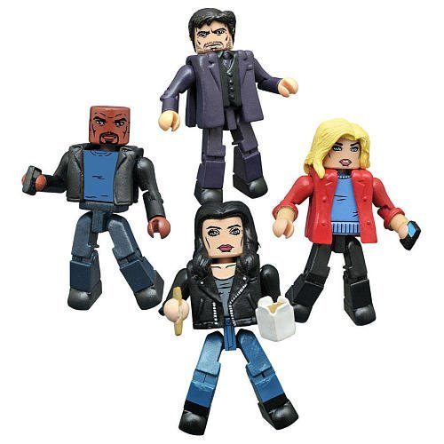 Diamond Select Toys Marvel Jessica Jones TV Series Minimates Box Set