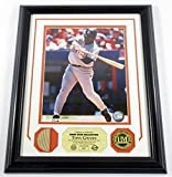 Tony Gwynn Game Used Collection Photo Bat Coin Highland Mint Framed DF024867 - MLB Game Used Bats