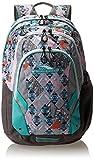 High Sierra Kenley Backpack, Native Heart/Charcoal/Silver/Aquamarine, 19 x 12 x 7-Inch