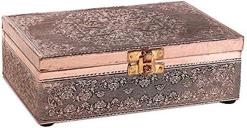 Tarot – Tarot Tarot Tarotdose Mandala – Caja de aluminio – Tarjetas de cobre – Joyas, pequeños tesoros – Caja – CUTE NAILS: Amazon.es: Belleza