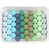 Crochet Beads Wooden Ball 20m 50pcs Cover with