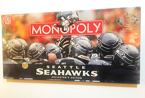 - Monopoly - Seattle Seahawks Collector's Edition