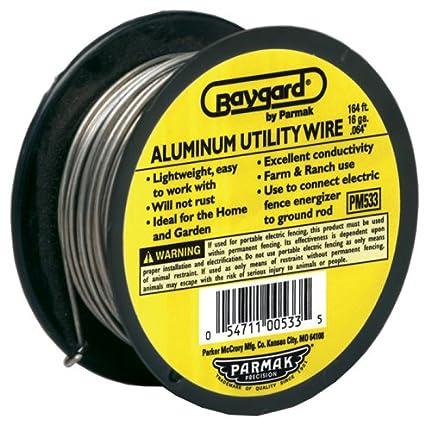 Fabulous Amazon Com Baygard Electric Fence 16 Gauge Aluminum Wire 164 Wiring Digital Resources Bioskbiperorg