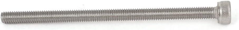 M3/x 50/mm 0.5/mm Pitch Tornillos hexagonales con rosca cabeza hexagonal clave Tornillos 50pcs