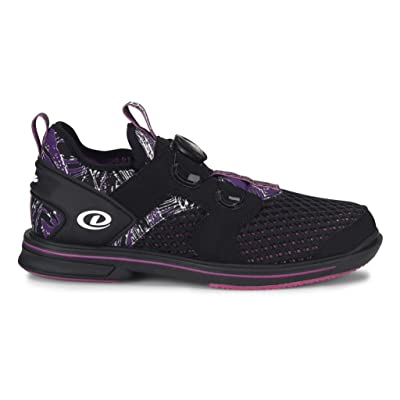 Dexter Pro BOA Women's Bowling Shoes Right Hand Black Purple | Cycling