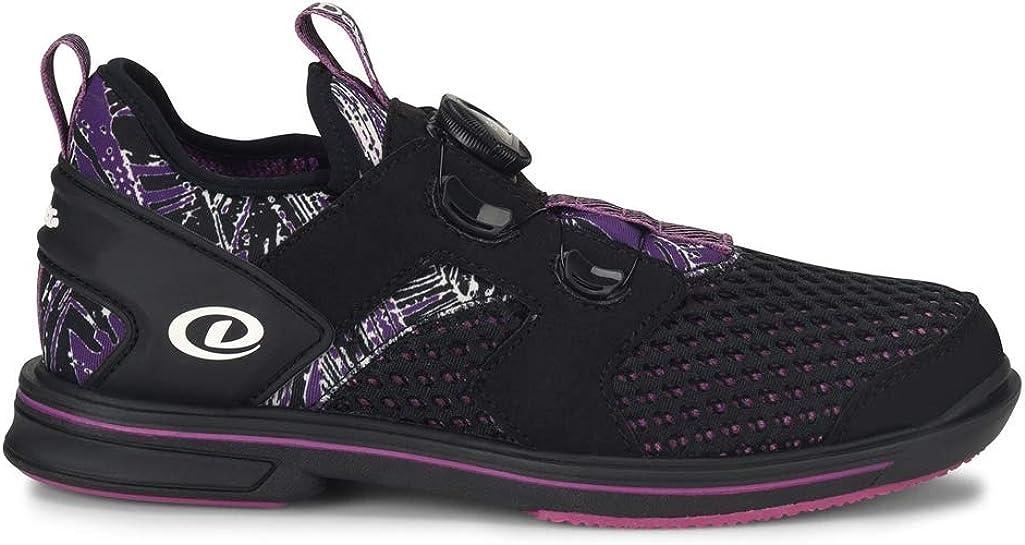 Dexter Pro BOA Women's Bowling Shoes Right Hand Black Purple