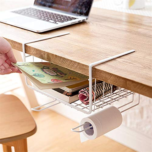 HeroStore Home Storage Tools Hook Type Kitchen Roll Paper Towel Holder Storage Rack Sundries Organizer Cabinet Cupboard Tissue Shelf by HeroStore (Image #5)