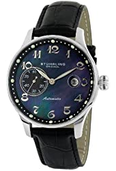 Stuhrling Original Men's 148.33151 Classic Heritage Automatic Mother Of Pearl Date Watch