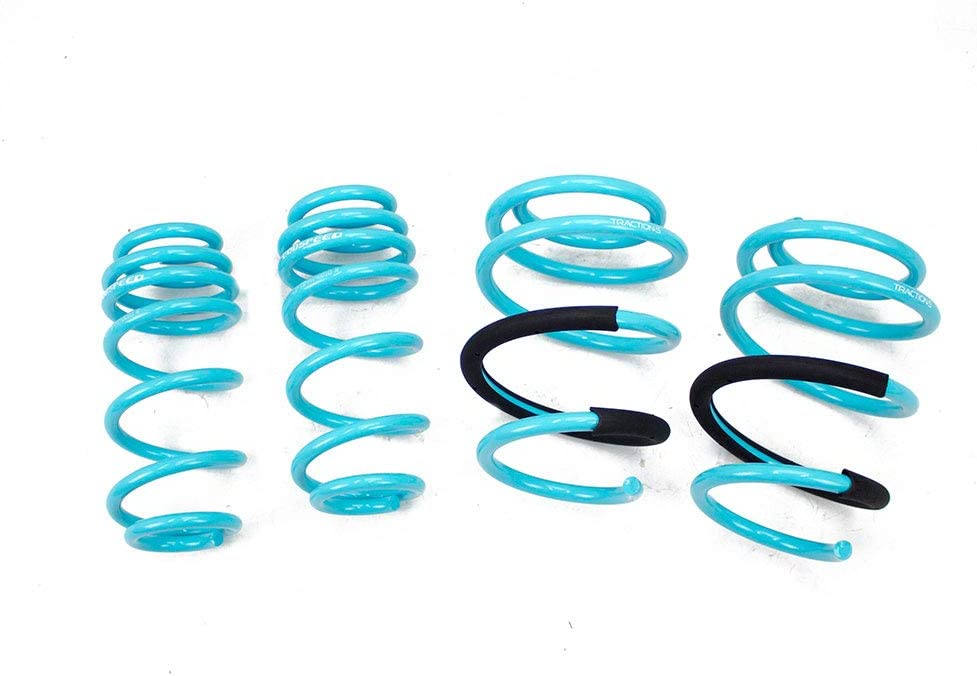 Improve Overall Handling And Steering Response Godspeed LS-TS-HI-0010 Traction-S Performance Lowering Springs