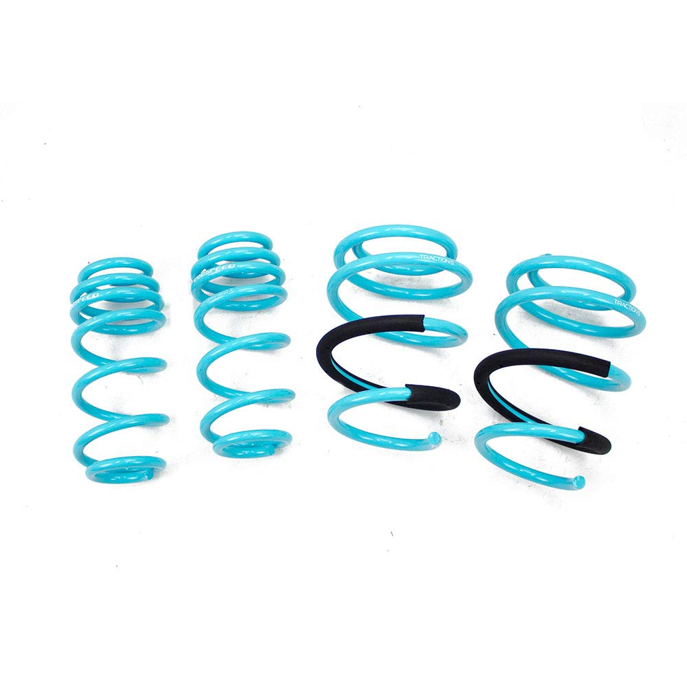 2019+UP Set of 4 JS Traction-S Performance Lowering Springs Kit for Hyundai Veloster