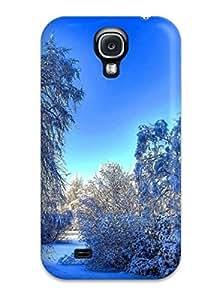 New Arrival Galaxy S4 Case Artistic Winter Snow Case Cover
